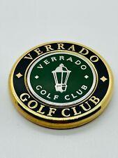Verrado Golf Club Arizona Black Green Magnetic Ball Marker Coin Medallion Mint