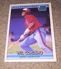 1992 (EXPOS) Donruss #2 Wil Cordero
