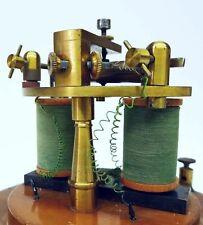 Antik Relais H.Heustreu Kiel Präzisionsrelais Telegraf Telefon Telegrafie 1900