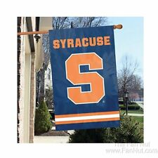 Syracuse Orange 2-sided Deluxe 28x44 Embroidered Applique Banner Flag University