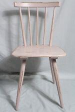Bauernstuhl/Strebenstuhl/Holz-Stuhl rosa Vintage Shabby-Chic Landhaus Country