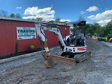 2009 Bobcat 425g Hydraulic Mini Excavator With 3rd Valve Coupler Amp Front Blade