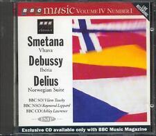 DELIUS: NORWEGIAN SUITE / DEBUSSY: IBERIA / SMETANA: VLTAVA - BBC CD (1995)