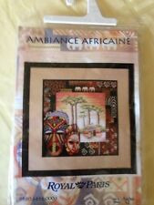 Ambiance Africaine counted cross stitch kit Royal Paris Anchor Sealed