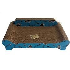 Heritage B84 Cardboard Sofa Cat Scratcher Pad Lounge Cats Scratching Fishbone