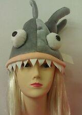 Fancy shark hat Child Adult Party Warm winter Hat  Unisex Headgear