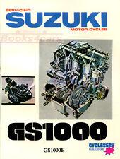 SHOP MANUAL GS1000 SERVICE REPAIR SUZUKI BOOK