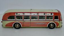 Post War US Zone Germany Tippco Tippcar Line Bus Tin Litho Wind-up Toy
