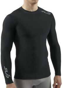 Sub Sports Cold Thermal Compression Mens Base Layer Top - Black
