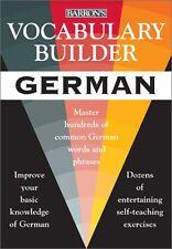 Vocabulary Builder: German: Master Hundreds of Com