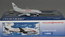 SCHABAK 403551586 BOEING 737-548 Rossiya ei-cdg en 1:600 ECHELLE