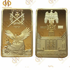 German Berlin 999/1000 Gold Reichskanzlei Hof Deutsche Reich Eagle Cross Bar