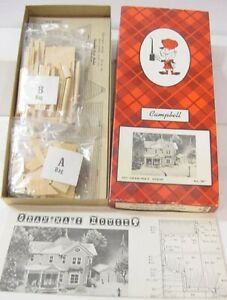 Campbell Scale Models 387-1995 HO Gran'ma's House
