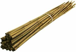 7Ft Bamboo Canes Sticks 210cm Strong Quality Plants Support Strong & Thick Large