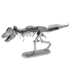 Tiranosaurio Rex Metal Tierra 3D Láser Cortar Esqueleto de Dinosaurio Kit Modelo en Miniatura