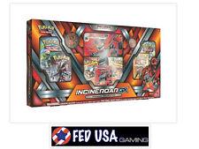 Pokemon TCG Incineroar GX Premium Collection Box SM Guardians Rising Packs Cards