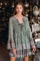 BNWT Spell Designs LIONHEART BLOUSE Olive Grove - Size S