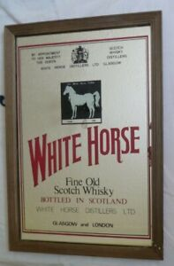 White Horse Scotch Whisky Advertising Picture Mirror