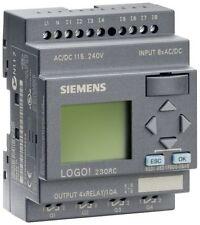 6ED1052-1FB00-0BA6 Siemens LOGO! 230RC,PLC MODULE 115V/230V/RELAY, 8 DI/4 DO