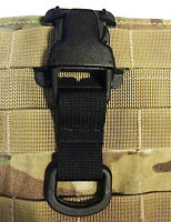 Black Every Which Way Buckle System Military Tactical T-ring Adaptor Tring