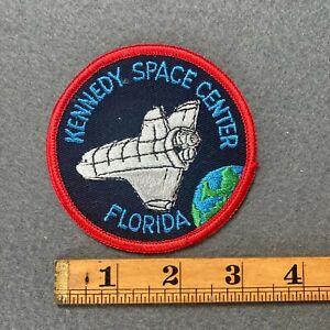 Vintage Kennedy Space Center Florida Rocket Souvenir Patch F1