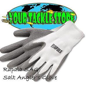 Rapala SAG Saltwater Angler Fisherman's Gloves Pick Size & Quantity NIP Salt
