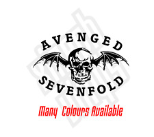Avenged Sevenfold Death Bat vinyl sticker decal cd skin car window mac ax7