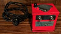 1935 PREWAR LIONEL O GAUGE TYPE L RED TRANSFORMER FOR SET #278E THE RED COMET.M7