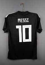 4.4/5 Messi Argentina soccer jersey Medium 2018 away shirt CD8565 Adidas ig93