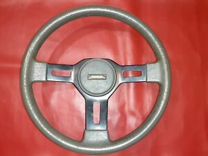 Mazda  B2000 B2200 B2600 Gray Sport Steering Wheel, Good Condition For The Age