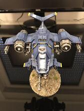 warhammer 40k space marines stormhawk interceptor pro-painted, magnetized