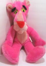 Pink Panther Vintage 1980  Plush Toy By Mighty Star Stuffed Animal