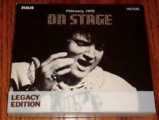 ELVIS ON STAGE 75TH ANNIVERSARY LEGACY EDITION 2-CD SET 2010