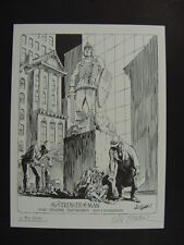 "WILL EISNER Signed Limited Edition Art Print ""THE STRENGTH OF MAN"" 1500 Produced"