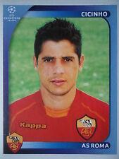 Panini 458 Cicinho AS Roma UEFA CL 2008/09