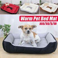Haustier Hund Katze Bett Welpe Kissen Haus Warm Sofa Matte Pad Decke Waschbar W/