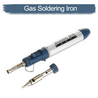 Gas Soldering Iron Cordless Welding Pen Burner Butane Blow Torch Tool AU