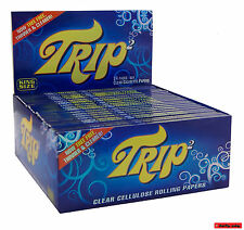 10 / 5 / 3 / 1 St. TRIP 2 King Size Clear Rolling Paper, 100% BIO !! TOP !!