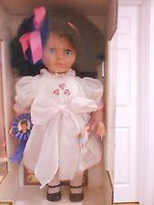 Lissi Fashion Doll November 1993 Sasha Black Hair Blue Eyes Certificate Germany