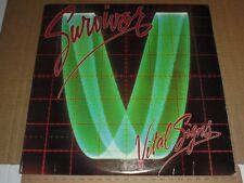 """Survivor Vital Signs 12"""" Vinyl Record Album FZ-39578 1984 NM Condition ROCK"""