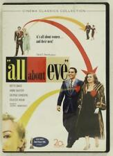 Dvd Movie All About Eve Cinema Classic Collection Bette Davis Anne Baxter