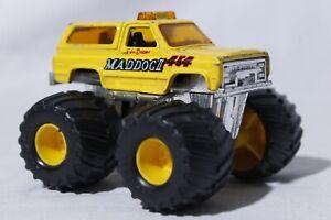 Vtg Matchbox Superchargers 1985 Mad Dog II Diecast Monster Truck Jeep 4x4 1:64