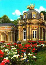 Bayreuth , Eremitage , Sonnentempel mit Quadriga , Ansichtskarte