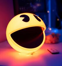 Pacman NIGHT LIGHT with 12 Game Sounds Mood Lamp ADJUSTABLE BRIGHTNESS