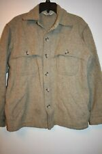 Vintage Woolrich Mackinaw wool shirt jacket mens size L