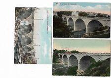 3 Bethlehem Pa Vintage/Early Postcards:Broad Street Bridge