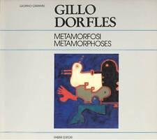 DORFLES - Caramel Luciano (a cura di), Gillo Dorfles. Metamorfosi. Métamorphos