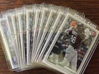 Luis Robert, Rookie Cards, 10 Card Lot, Chicago White Sox, 2020 Bowman #18