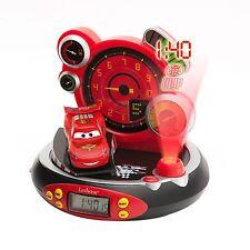 Disney Cars Projector Alarm Clock Radio Kids Bedroom Clock New