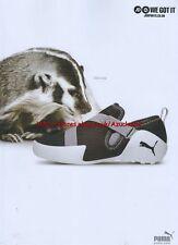 "Puma ""SOoo fast"" Trainers 2006 Magazine Advert #2538"